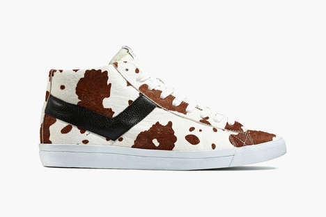 Pony Haired Kicks - The Mark McNairy x Product of New York Kicks Uses Untraditional Animal Prints