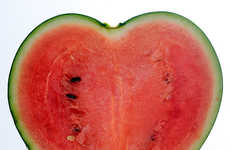 Romantically Formed Fruit - The Heart-Shaped Watermelon Was Engineered by Kimura Yoichi