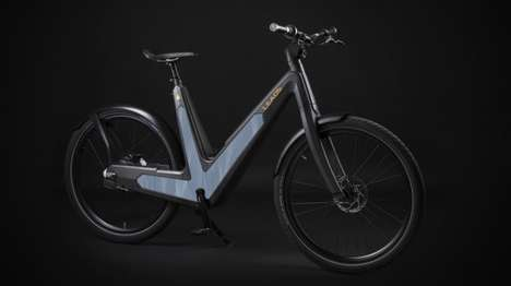 Solar-Powered E-Bikes - The Leaos Solar E-Bike is Fitted With Solar Panels