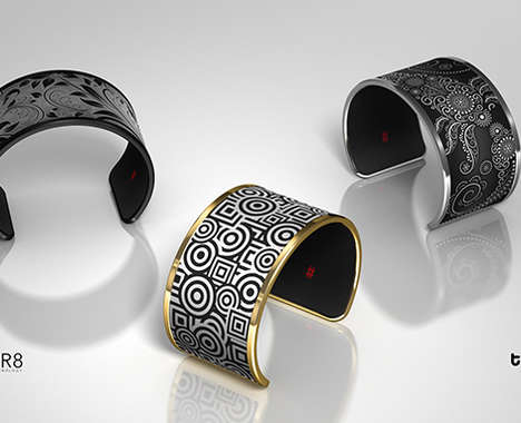 Adaptable E-Ink Bracelets