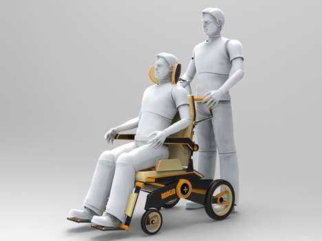 Dynamic Wheelchair Designs - The Adagio+ Has Been Developed for Optimal Adaptable Ergonomics