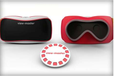 Retro Virtual Reality Devices - Mattel Partners with Google to Bring Back the View-master