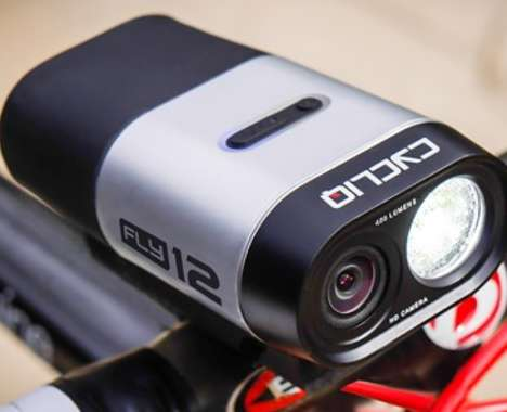 Camera-Embedded Bike Lights