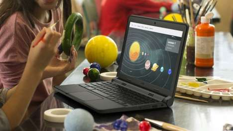 Schoolyard-Tough Laptops - Dell's Chromebook 11 is Designed For the Educational Space