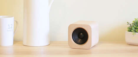 Gesture-Controlled Speakers - Sugr Cube Sound System Responds to Taps, Pats and Tilts for Commands