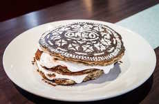 The Diner's Oreo Cookie Cake Stack Contains Gooey Marshmallow Layers