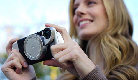 Photographic Phone Cases - This Smartphone Lens Attachment Includes Four in One for Expert Images