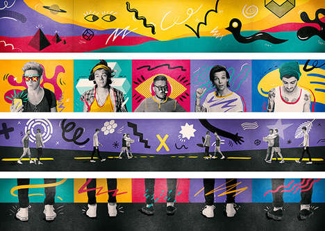 Boy Band Super Tours - Studio Morross Brought the One Direction Tour to Life