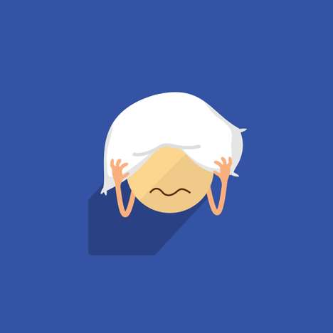 Introvert-Inspired Emojis - Introjis is a Series of Emoticons Designed for the Less Communicative