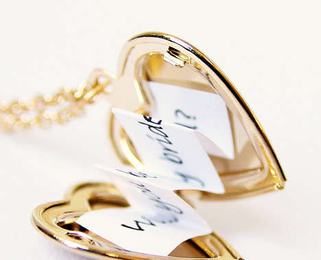 Heart Locket Messages