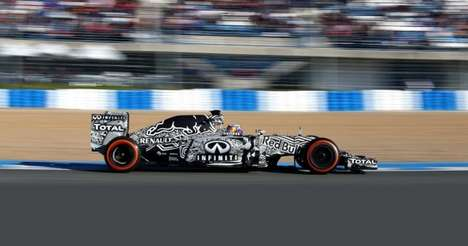 Energy Drink Racing Cars - The Red Bull RB11 Formula 1 Car is Designed by Adrian Newey