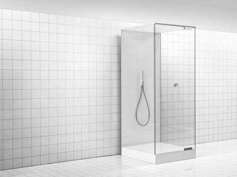 Drought-Conscious Shower Systems - The Shower of the Future Recycles 90 Percent of the Water It Uses