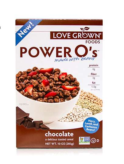 Bean Protein Cereals - Power O's is a Breakfast Cereal Made with Beans