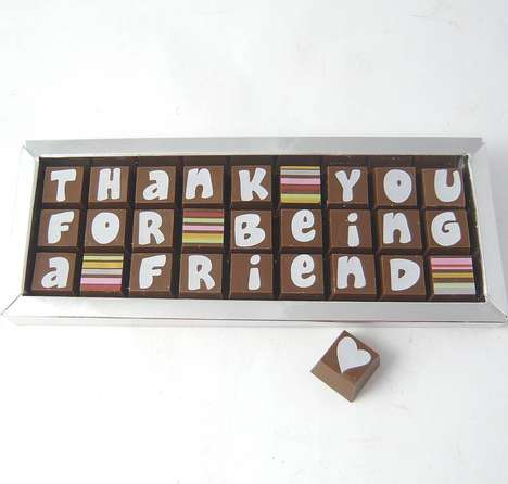 Personalized Chocolate Boxes - Cocoapod Helps You Send Messages in a Sweet Way