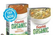 Hearty Organic Soups - The Campbell's Organic Soups Offer a Healthier Meal Option