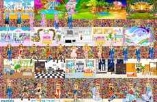 Emoji-Laden Artwork - Petra Cortright Creates Digital Art Using a Variety of New and Old Emoticons