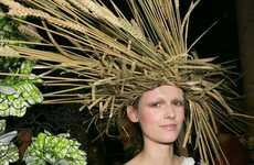 The Viktor & Rolf Straw Hat Turned Heads During the AW15 Couture Week