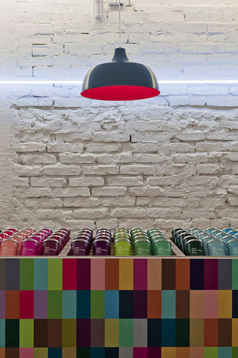 Minimalist Tea Lounges - The Gourmet Tea Lounge in Sao Paulo is Colorful and Chic