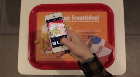 Fortune-Telling Fries - Fast Food Marketing Campaign Involves Divination by French Fries