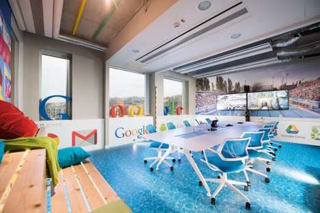 Spa-Themed Tech Offices - The Google Budapest Office is a Playful Nod to the City's Spas