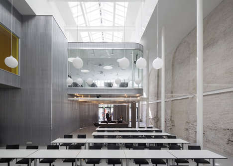 Repurposed Dance Halls - The Former Valencia in Copenhagen is Revived as Offices