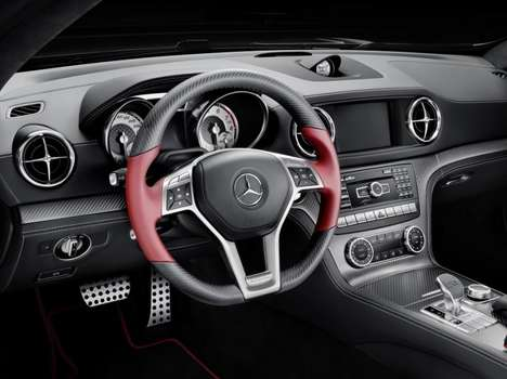 Dynamically Assisted Cars - The SL Special Edition Mille Miglia 417 Comes With Curve Dynamic Assist