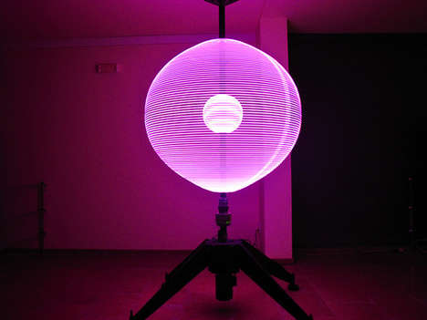 100 Interactive Light Installations - Artistic Light Installations Grab the Attention of Consumers