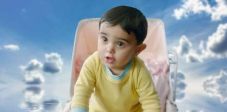 Demanding Baby Ads - MTS' Wi-Fi Ad Has a Baby Refuse to Be Born into a House Without Internet