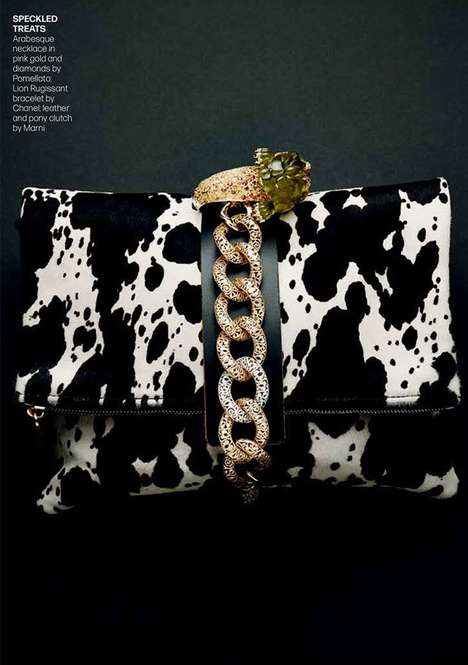Luxe Accessory Editorials - Tatler Hong Kong's Precious Surprises Series is Lensed by Piotr Stoklosa