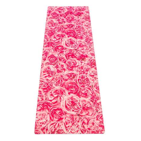 Floral Yoga Mats - Yoga Design Lab Introduces Fresh Designs for Spring