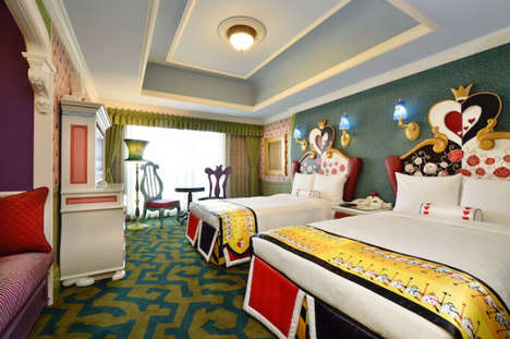 Whimsical Disney Resorts - The Tokyo Disneyland Hotel Boasts Character-Themed Suites