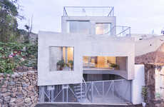 Futuristic Concrete Abodes - The G House by Esau Acosta is a Modular Marvel