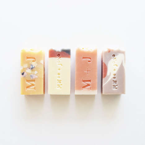 Delicately Branded Soaps - Vice and Velvet is a Collection of Pretty Handmade Vegan Bath Products
