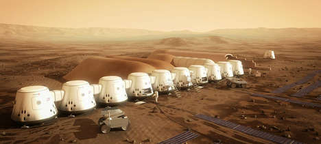 Human Colonization Expeditions - The Mars One Settlement is a Step Closer with 100 People Signed Up
