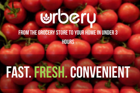 Speedy Grocery Services - Urbery's Grocery Delivery Brings Items to Your Home in a Matter of Hours