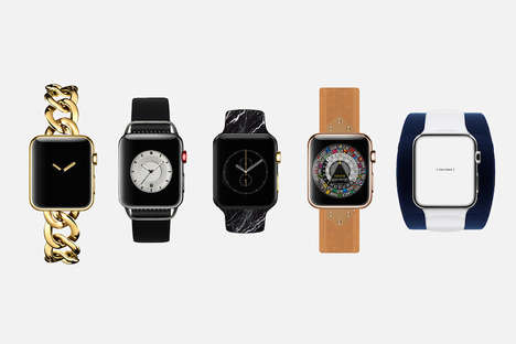 10 Apple Watch Innovations - From Re-Imagined Tech Fashions to Smartwatch Car Apps