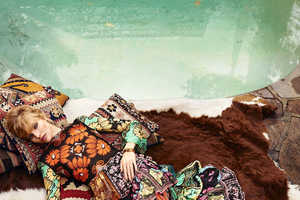 Sasha Luss Stars in a Colorful Exclusive for Harper's Bazaar