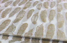 This Gold Tissue Paper Brings Beautiful Natural Detail to Presents