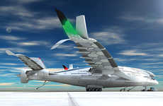 Eco Jumbo Jets - The Progress Eagle Aircraft Seats 800 and Employs Sustainable Energy