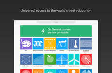 Versatile Learning Apps - The Coursera App for iPhone and iPad Offers an Array of Course Options