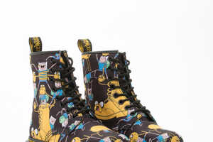 The Dr Martens Adventure Time Boots are a Surprising Collaboration