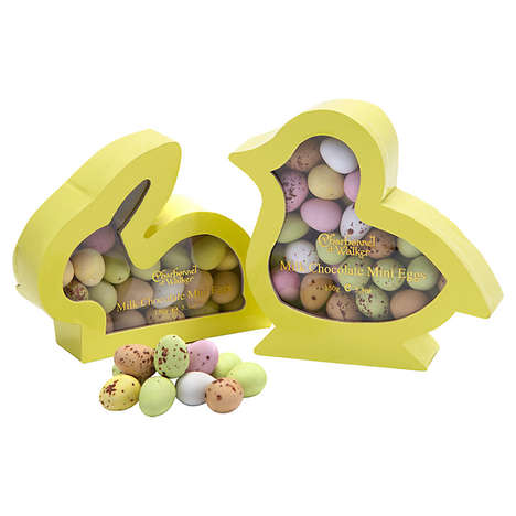 Bunny Egg Boxes - Charbonnel et Walker Easter Packaging Takes the Shapes of Chicks and Rabbits