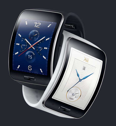 Swanky Untethered Smartwatches - The Samsung Gear S Can Be Used Away From Your Smartphone