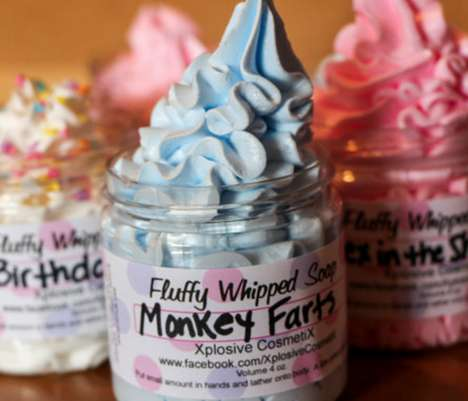 Eccentrically Scented Soaps - This 'Monkey Farts Soap' Smells Like Fresh Bananas, Mangos and Kiwi