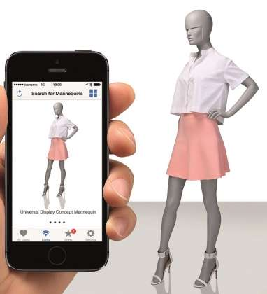Beacon-Embedded Mannequins - The Westfield Ted Baker Store Introduces Location-Based Technology