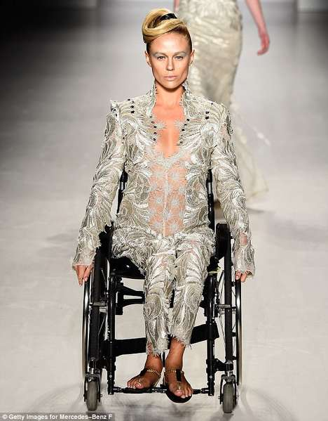 InclusiveFashion Runways - FTL Moda Featured Disabled Models to Promote Diversity in Fashion