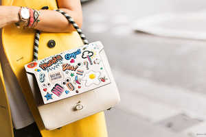 The Anya Hindmarch Stickers Add Emojis to Any Handbag, Phone or Wallet