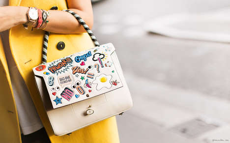 Emoji Purse Stamps - The Anya Hindmarch Stickers Add Emojis to Any Handbag, Phone or Wallet
