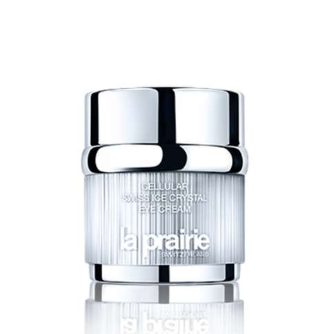 Mountain-Sourced Skincare - The La Prairie Cellular Swiss Ice Crystal Eye Cream Sources Rare Flowers