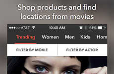 Cinematic Shopping Apps - Thetake App Makes Products in Movies and TV Shows Shoppable